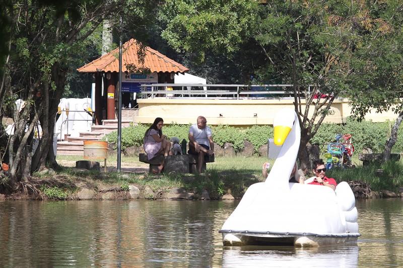 Café do Lago voltará a ter espaço para ancoradouro de pedalinhos