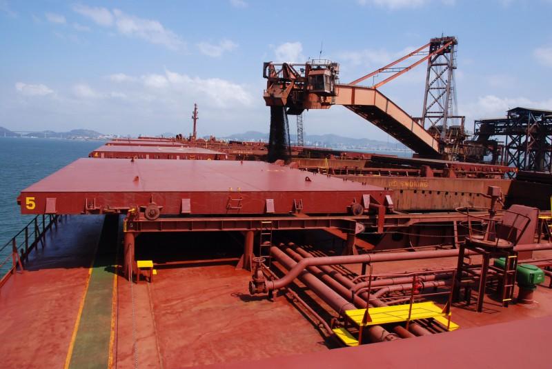 Minério de ferro teve um fraco desempenho, com recuo de 48,8%