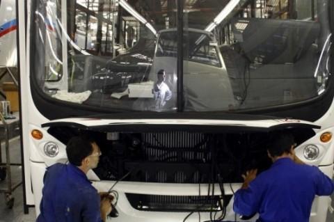 Foco das empresas da Serra, como a Marcopolo, é o mercado externo
