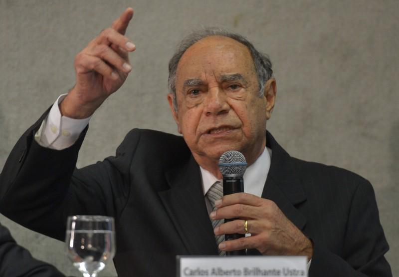 Ustra prestou depoimento à Comissão Nacional da Verdade em 2013