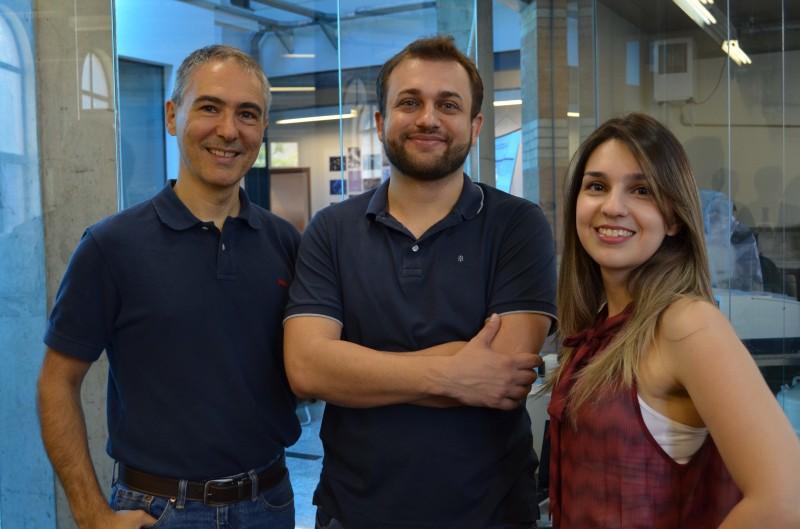 Chinaglia (e), Crovace e Marina são responsáveis pelo invento