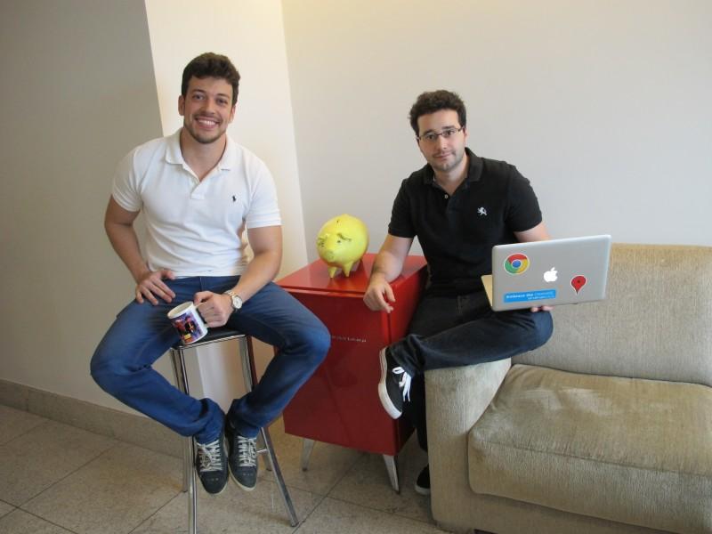 Salmen e Guimarães são os fundadores da startup de Belo Horizonte
