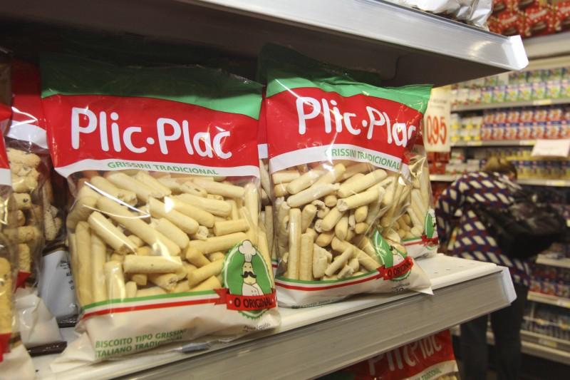 Grissini italiano está nas gôndolas do supermercado em duas versões