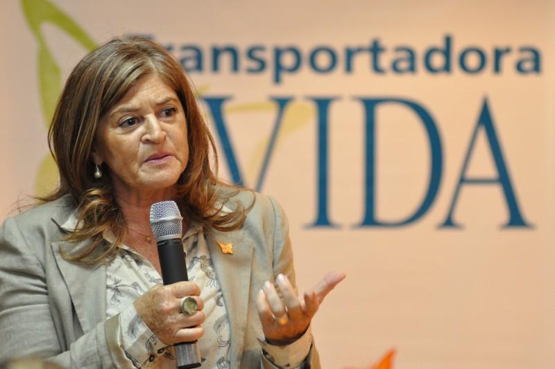 Com a Fundação Thiago Gonzaga, Diza trabalha desde 1995 na conscientização sobre o trânsito