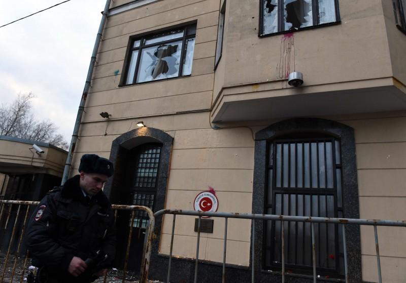 Embaixada turca em Moscou teve segurança reforçada após depredação