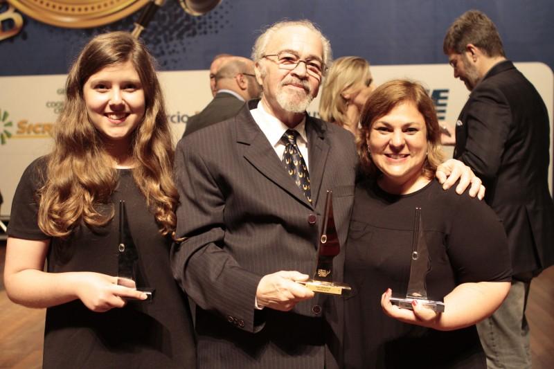 Ucha é o Jornalista do Ano; Carolina e Cristine foram destacadas