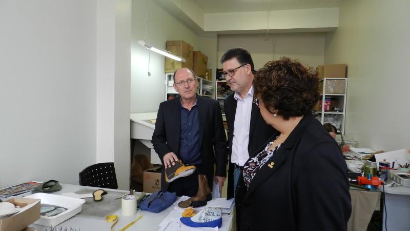 Autoridades visitaram os espaços oportunizados do Techpark