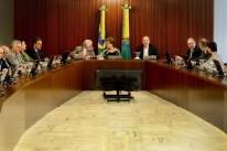 Presidente Dilma Rousseff reuniu o Conselho Político para tratar do processo de impeachment