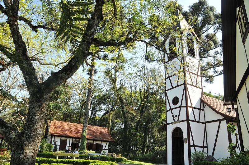 Parque Aldeia do Imigrante faz um resgate da história da colonização alemã no município e na região