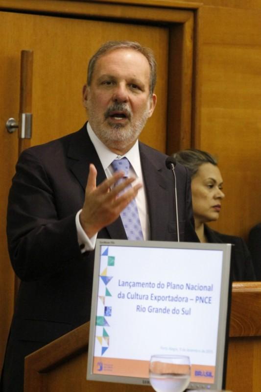 Monteiro falou ontem na Fiergs