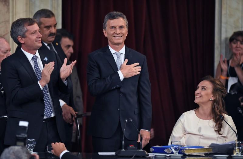 Macri foi eleito no segundo turno das eleições, com 51,42% dos votos