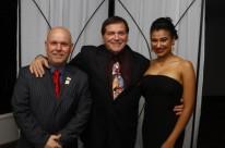 João Paulo Longhi, Jerry Adriani e Laura Farias Longhi