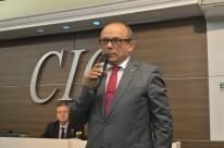 Pinheiro falou ontem durante reunião-almoço na CIC