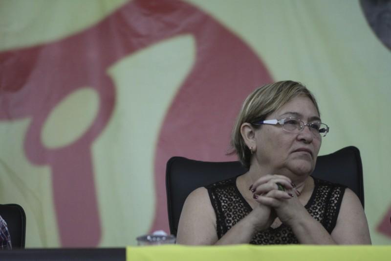 Helenir Aguiar Schürer, presidente do Cpers, pediu pela saída de Feltes do Governo