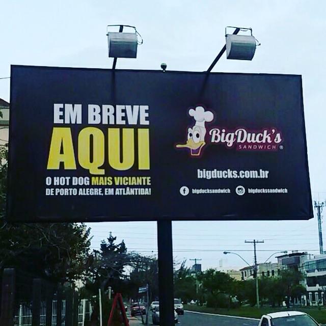 Big Duck's abriu na avenida Central, em Atlântida