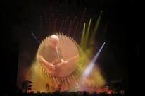 Ex-integrante do Pink Floyd foi ovacionado ao cantar clássicos da banda
