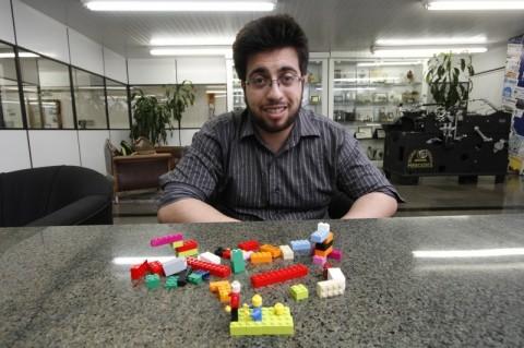 Jacques é um dos únicos facilitadores de Lego Serious Play no RS