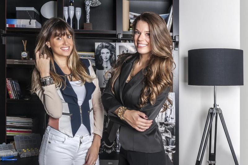 Suzana e Caroline comandam a marca Maria Mello's