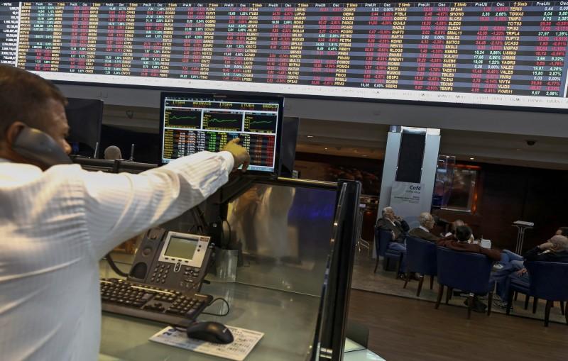 Índice Bovespa registrou queda de 1,27% e fechou na mínima do dia