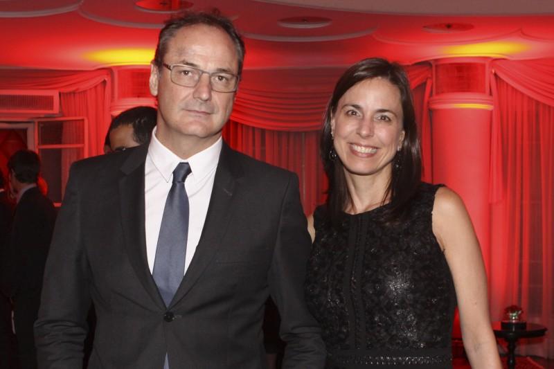 Leonardo e Leandra Metsavaht vieram do Rio de Janeiro para a formatura