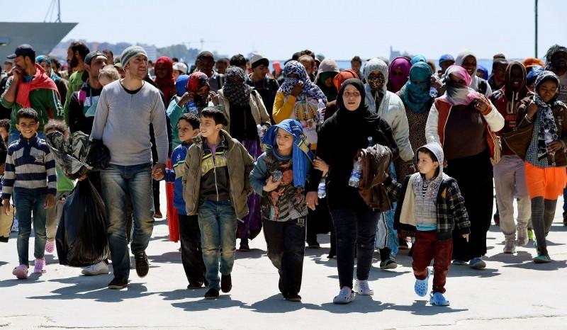 Em 2015, quatro vezes mais pessoas entraram na Europa do que em 2014