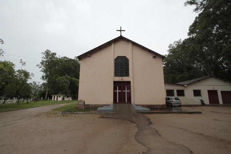 Igreja São José Operário ficou no perímetro do Lami