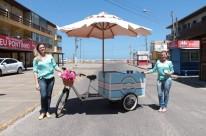 PotyCake: a food bike pioneira do Litoral