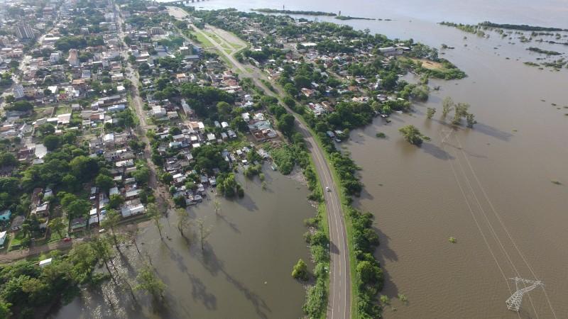 Nível do rio Uruguai deve começar a reduzir com pausa da chuva