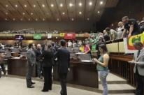 Acesso às galerias do plenário foi controlado para acompanhamento das votações