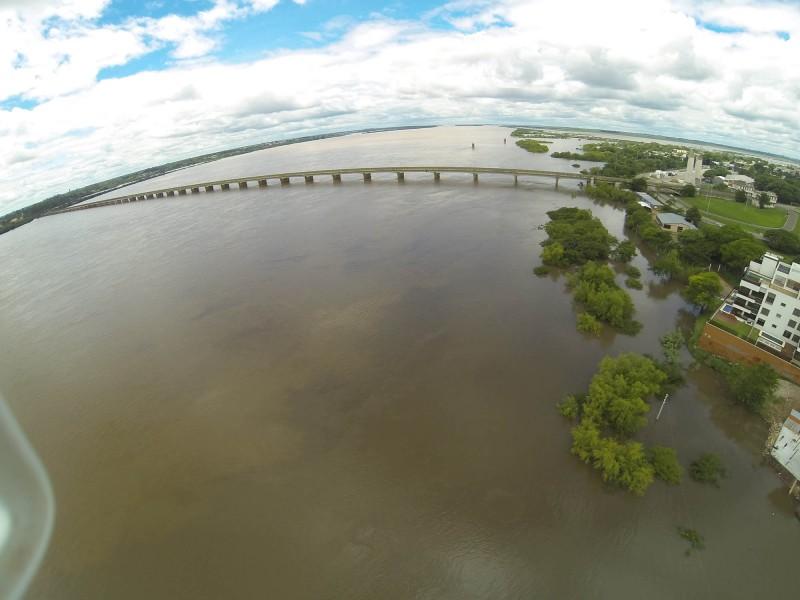 Enchentes geraram perdas nas áreas produtoras, como Uruguaiana