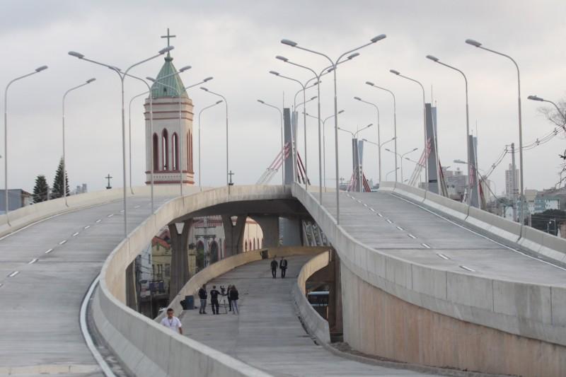 Viaduto faz parte da Terceira Perimetral