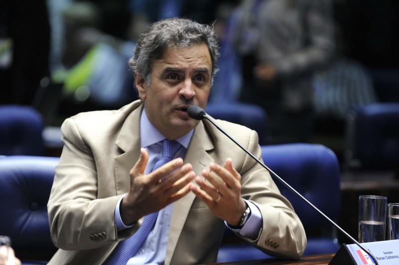 Aécio Neves rebateu denúncia de que teria recebido R$ 300 mil, feita em delação premiada de Carlos Alexandre de Souza Rocha