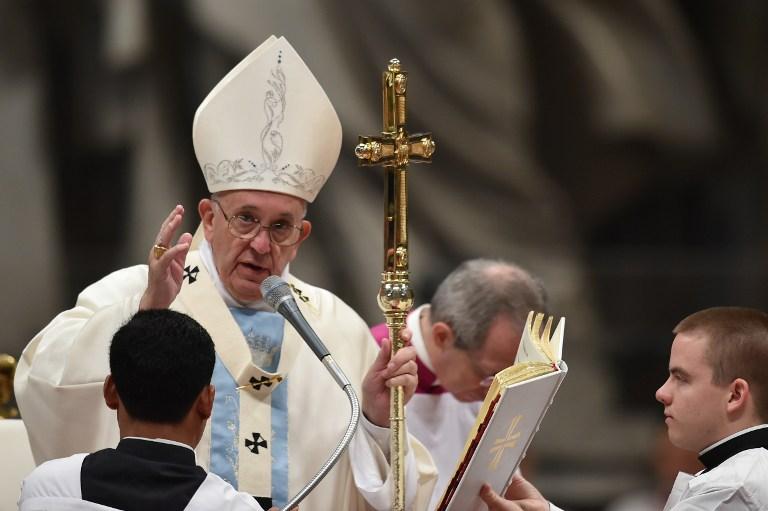 Papa Francisco celebrou a chegada do ano novo em missa na Basílica de São Pedro