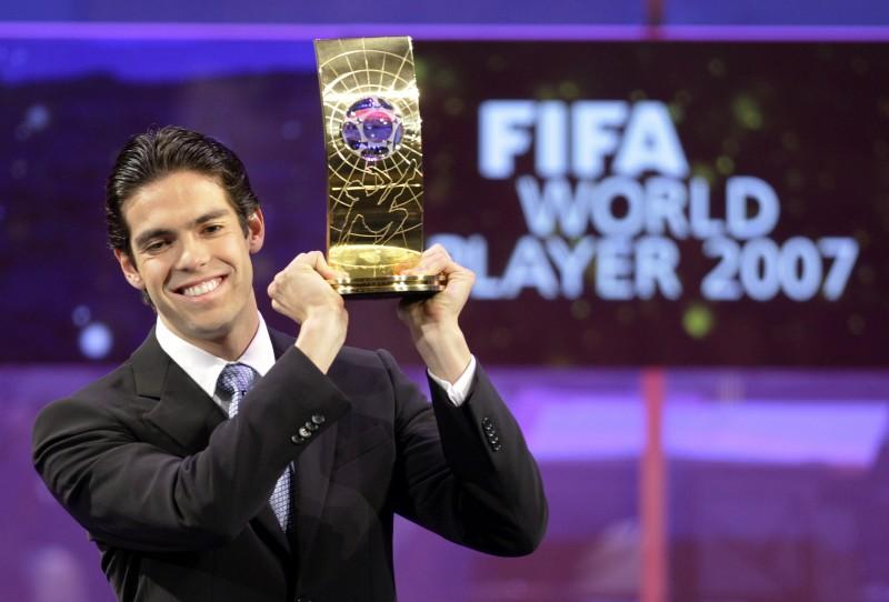 Meia foi o último brasileiro a faturar o prêmio da Fifa, em 2007