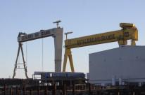Cerca de 5,5 mil funcionários trabalham no Estaleiro Rio Grande