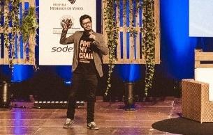 Daniel Mattos, sócio da Smile Flame, durante o CEO Fórum
