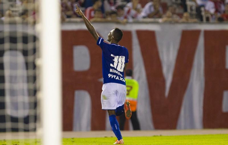 Marquinhos jogou pelo Cruzeiro de 2014 a 2015