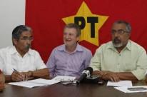 Apelos de Olívio Dutra (e), Ary Vanazzi (c) e Raul Pont pesaram na decisão