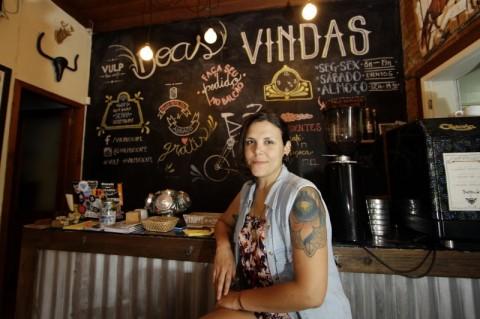 Isadora Lescano saiu do jornalismo para empreender no ramo das bikes