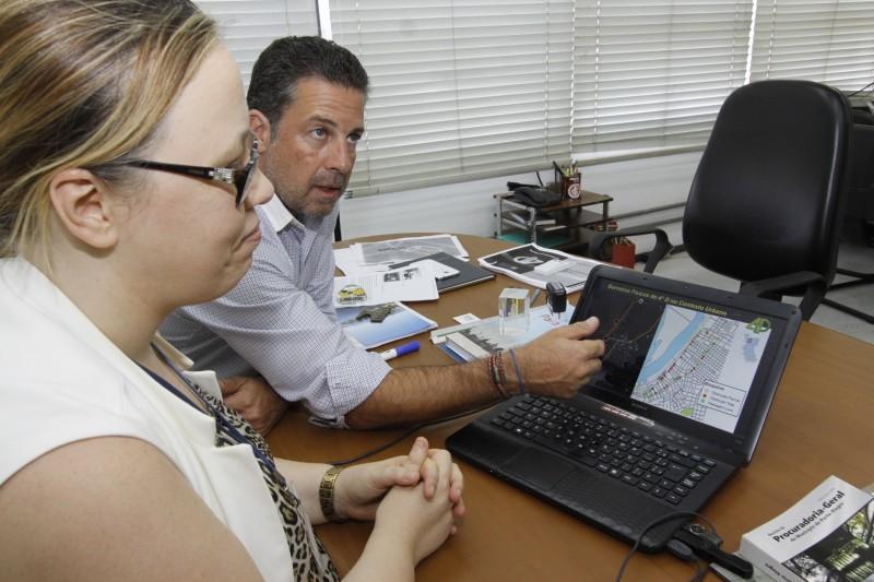 Nagelstein e Ada detalham a proposta que dará origem ao Master Plan para revitalização