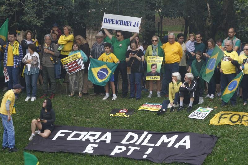 Movimento Brasil Livre foi um dos principais apoiadores ao afastamento da presidente Dilma Rousseff