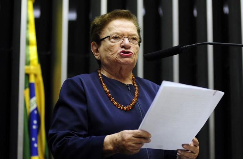 Deputada federal Luíza Erundina é uma das fundadoras da Raiz