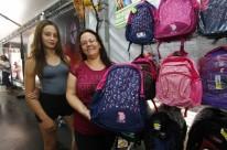 Marinéia e a filha Karen, de Jaguarão, aproveitaram o passeio pela Capital para comprar alguns itens