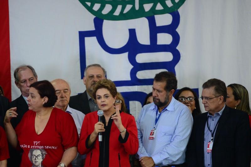 Dilma diz que está