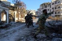 Soldados conseguiram expulsar os insurgentes da cidade de Rabia