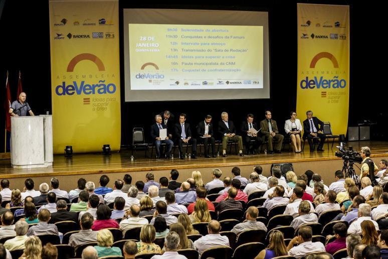 Iniciativa foi apresentada na Assembleia de Verão da Famurs, em Torres