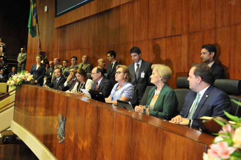 Silvana é primeira mulher a assumir a presidência da ALRS