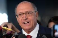 Alckmin comunicou a decisão por meio de nota