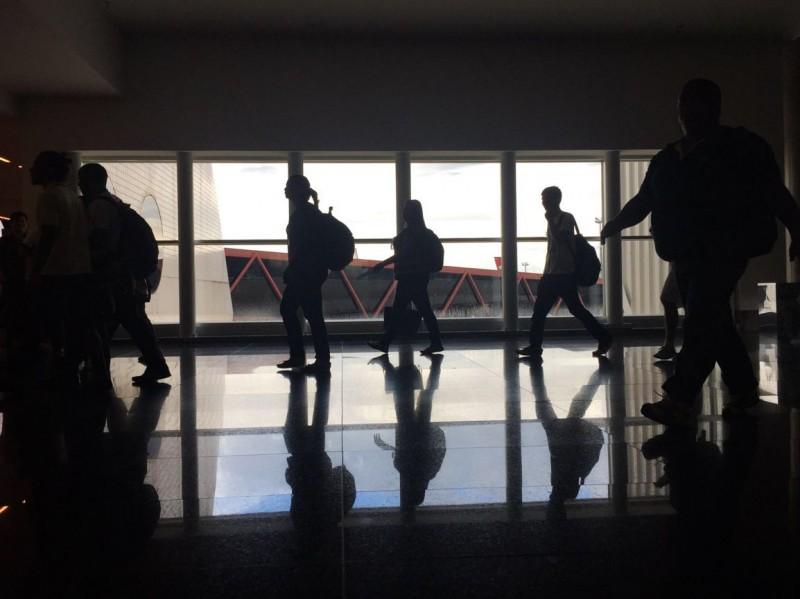 3Economia movimento aeroporto Internacional de Brasília véspera Carnaval foto Marcelo Camargo Agência Brasil