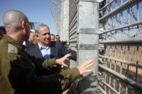 Netanyahu anunciou plano após visita ao sul, na divisa com a Jordânia